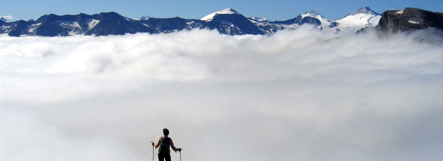 above the clouds the freedom is boundless